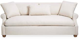 Robin Bruce Bristol Roll-Arm Sofa - Natural Sunbrella