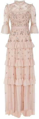 Needle & Thread Lustre Ruffle Gown