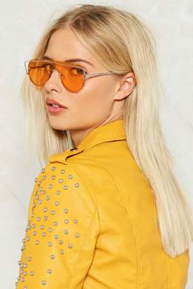 Nasty Gal Clearly Perfect Visor Shades