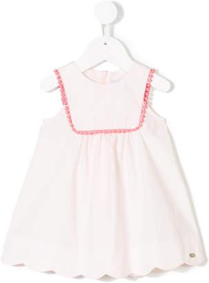 Tartine et Chocolat mini pompom-embellished dress