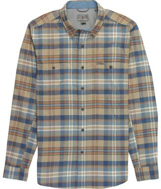 Royal Robbins Treeline Stretch Performance Plaid Flannel Shirt - Men's