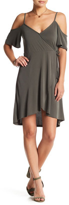 Socialite Cold Shoulder Dress $48 thestylecure.com