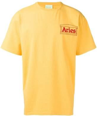 Aries logo patch T-shirt