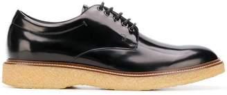 Tod's gum sole Derby shoes