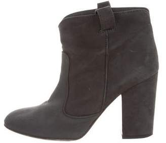online cheap sale buy Laurence Dacade Leather Round-Toe Booties sast for sale store cheap price rmDYz