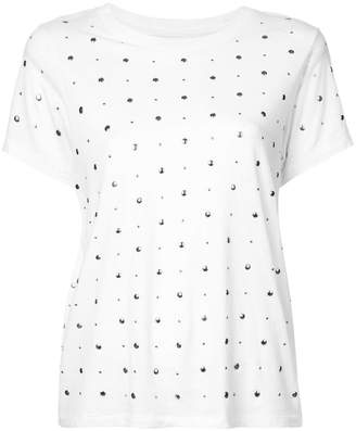 Current/Elliott studded T-shirt