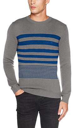 Benetton Men's Longsleeve Sweater Sweatshirt,Large