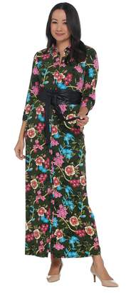 Brooke Shields Timeless BROOKE SHIELDS Timeless Regular Knit Maxi Dress with Belt