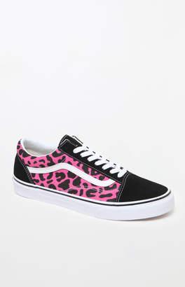 Vans Leopard Old Skool Shoes
