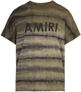Amiri Tie-dye cotton T-shirt