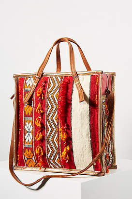 En Shalla Square Tapestry Bag