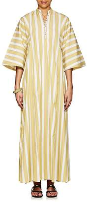 Thierry Colson Women's Rachel Striped Cotton Long Caftan