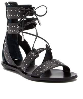 KENDALL + KYLIE Kendall & Kylie Fabia Studded Leather Gladiator Sandal