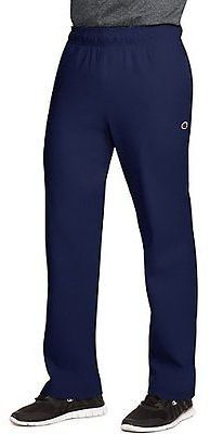 Champion Authentic Men's Open Bottom Jersey Pants Men's Gym Clothes