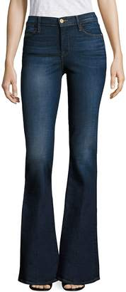 Peserico Women's Le High Flared Jeans - Blue, Size 32 (10-12)