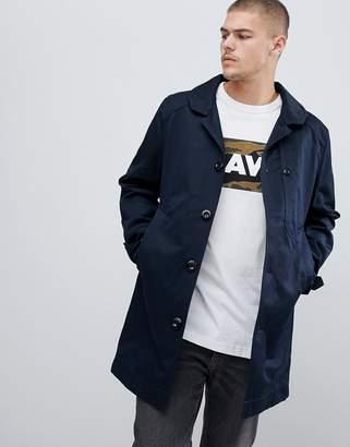 G Star G-Star Garber trench coat in navy