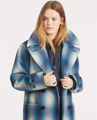 Polo Ralph Lauren Plaid Wool-Blend Coat