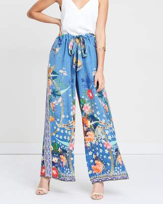 Camilla Lounge Trousers with Tie Waist