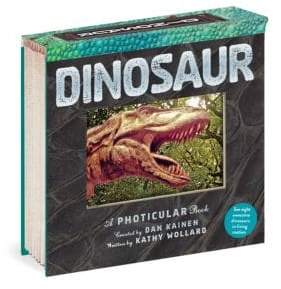 Photocular Dinosaur Book
