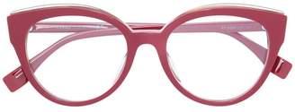 Fendi Eyewear classic round glasses