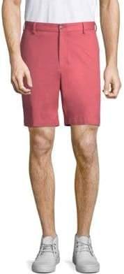 Peter Millar Twill Flat-Front Shorts