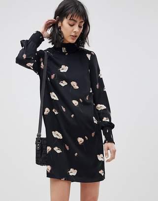 Vero Moda High Neck Floral Dress