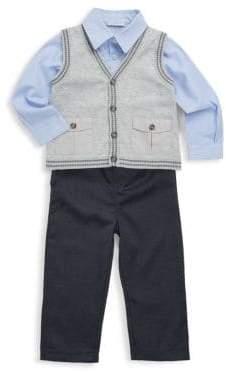 Baby's Heathered Cotton Vest