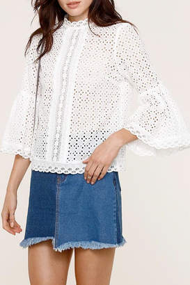 Heartloom Elis Eyelet Top