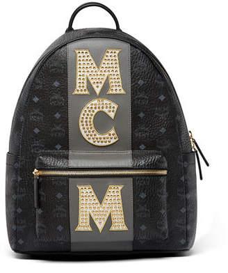 MCM Stark Men's Stripe Studs Backpack