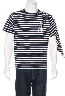 J.W.Anderson Striped Crew Neck T-Shirt
