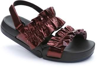 FIGS BY FIGUEROA Figulous Ruffle Sandal