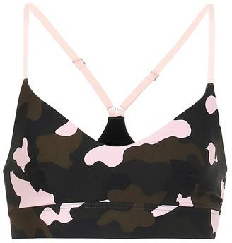 The Upside Forest Camo Zoe sports bra