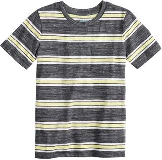 f86e47f754ac37 Boys 4-12 Jumping Beans Wide Striped Pocket Tee