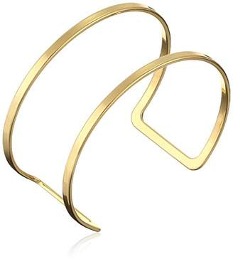"Jules Smith Designs Americana"" Gold-Tone Cuff Bracelet"