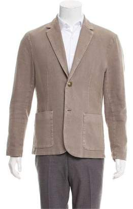 James Perse Deconstructed Two-Button Blazer