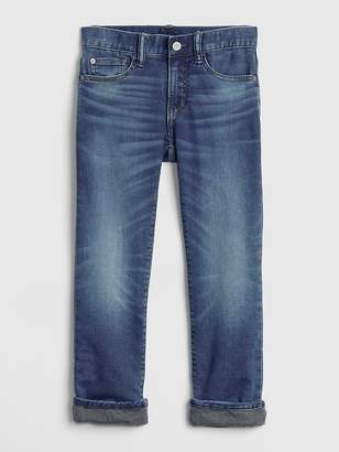 Gap Superdenim Knit-Lined Original Jeans with Defendo