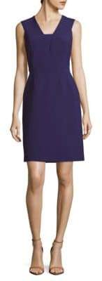 HUGO BOSS Dasala V-Neck Sheath Dress