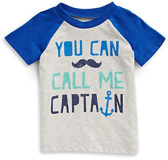 First Impressions Captain Raglan-Sleeve Cotton Tee