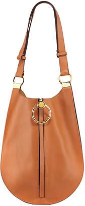 Marni Metal Ring Leather Shoulder Bag