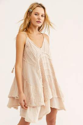 da8441a2 ... Beige Back Zip Dresses. View Related Searches. at Free People · The  Endless Summer At First Glance Mini Dress