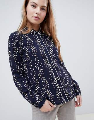 Only Ditte floral print shirt