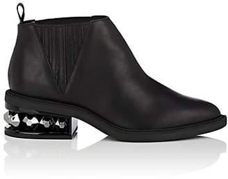 Nicholas Kirkwood Women's Suzi Leather Ankle Boots - Black