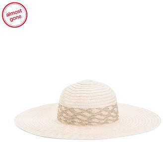 ec70a5e7c Gold Floppy Hat - ShopStyle