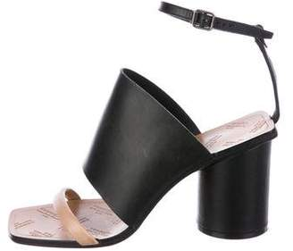 Maison Margiela Leather Ankle-Strap Sandals