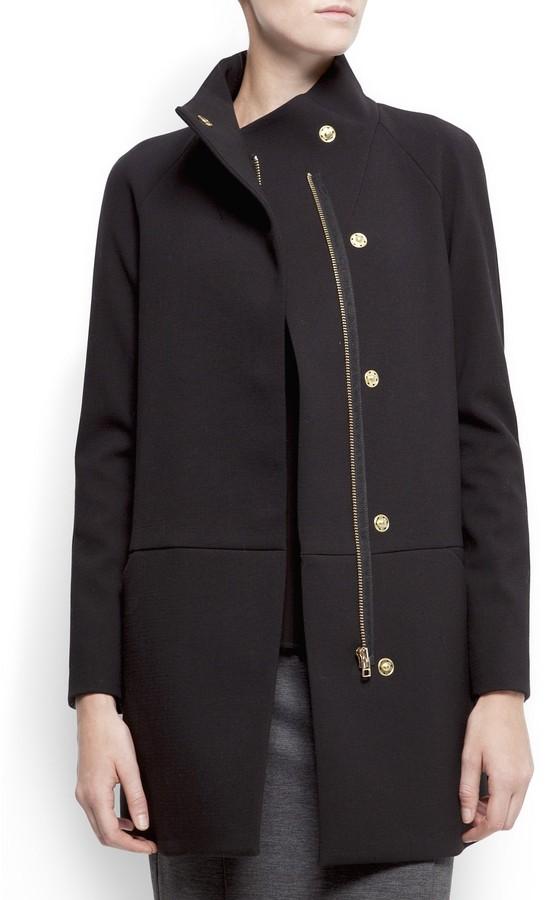 MANGO Minimal style coat