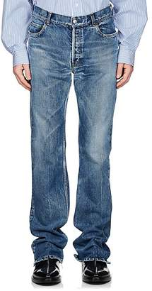 Balenciaga Men's Flared Mid-Rise Jeans