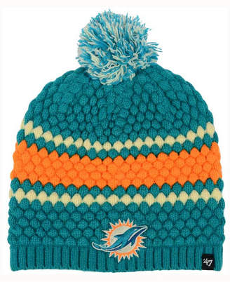 '47 Women's Miami Dolphins Leslie Pom Knit