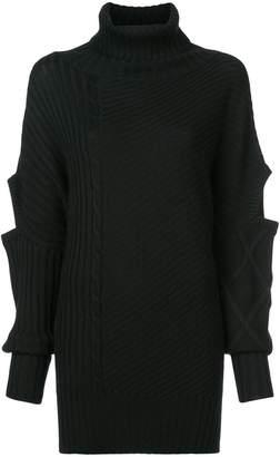 Osman turtleneck cut-out detail sweater