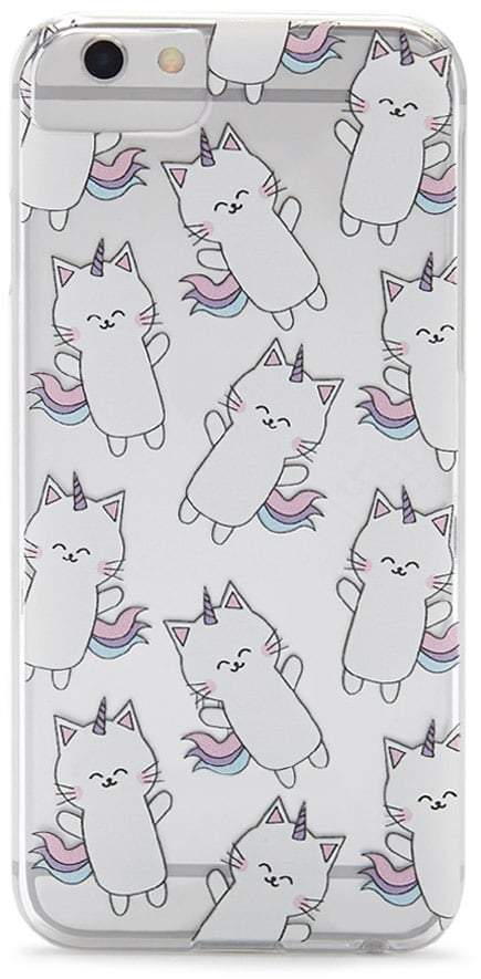 Forever 21 Unicorn Cat Phone Case for iPhone 6/6s/7