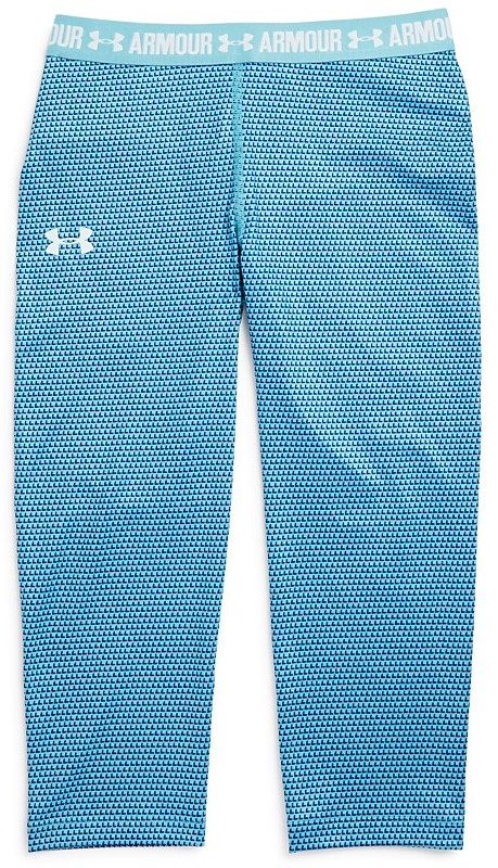 Under Armour Girls' Print Armour Capri Leggings - Sizes XS-XL